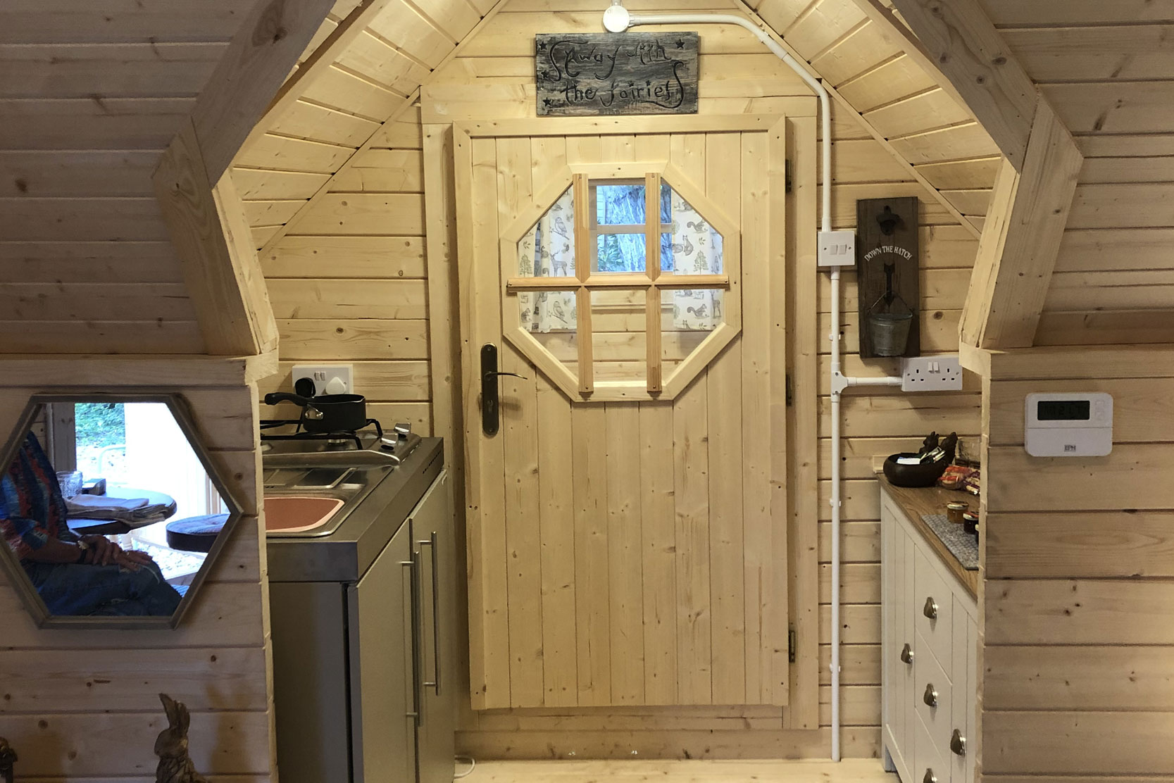Glamping cottage Norfolk